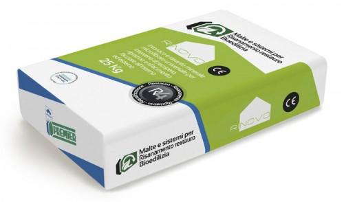 Intonaco e rasante minerale universale fibrato bianco naturale base calce idrata. Conforme alla UNI EN 998-1 caratterizzato da elevata adesione al supporto e basso modulo elastico. Idoneo per l'esecuzione di rasature armate per recupero o ripristino facciate. Conforme alla UNI EN 998-1. Marchio CE